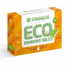 SYNERGETIC indaplovių tabletės,biologiškai skaidomos, 25 tabl
