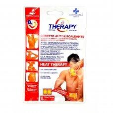 THERAPY šildomasis pleistras nuo raumenų, sąnarių ir menstruacijų skausmo 13x10 cm 1vnt