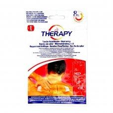 THERAPY šildomasis pleistras nuo raumenų, sąnarių ir menstruacijų skausmo 28,8x9cm 1vnt