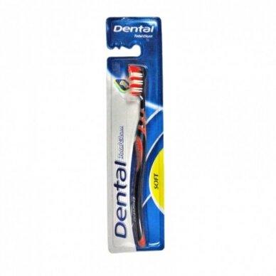 Total Clean dantų šepetukas soft, 1 vnt