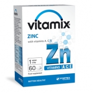 VITAMIX CINKAS su vitaminais A, C, E tabletės N60