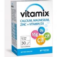 VITAMIX KALCIS MAGNIS CINKAS + VITAMINAS D3 tabletės N30