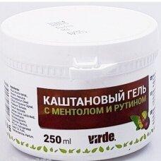 VIRDE kaštonų gelis su mentoliu 250 ml