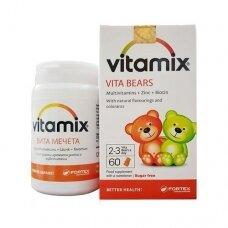 VITAMIX VITA MEŠKIUKAI (vitaminai vaikams) guminukai N60