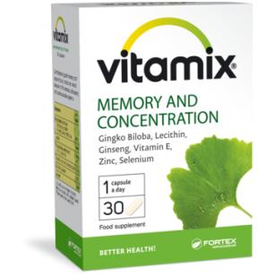 Vitamix Atmintis ir koncentracija, 30 kaps.