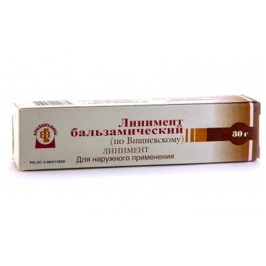 Višnevskio balzaminis linimentas, 30 g