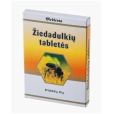 ŽIEDADULKIŲ TABLETĖS N20